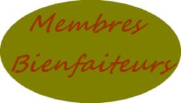 Membres Bienfaiteurs
