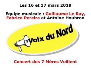 WEEK-END CHANTANT 2019 : VOIX DU NORD