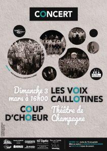 COUP D'CHŒUR ET LES VOIX CAILLOTINES (Cliquez ici)